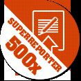 Gratulacje! Dodałeś 500 materiałów w serwisie Kontakt 24